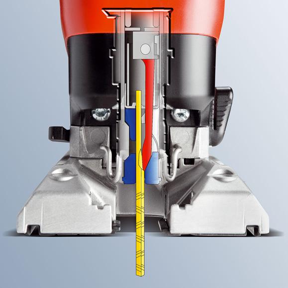 MAFELL Detail uložení pilového plátku v P1 cc