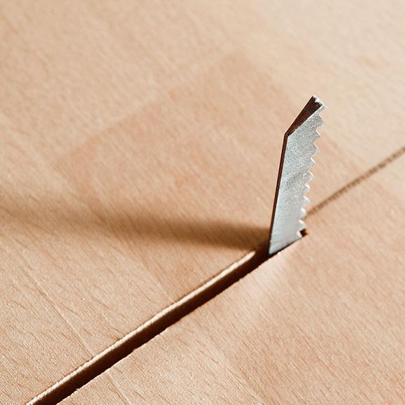 MAFELL Detail řezu plátkem P1 cc