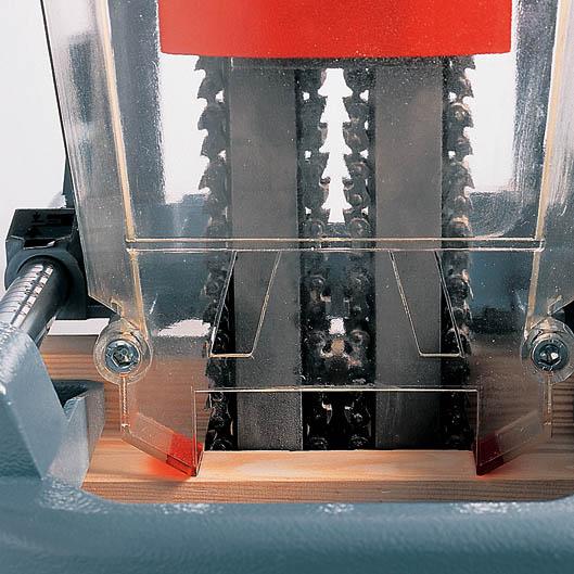 MAFELL SKS 130 lišty jsou bez údržbové, nemusí se mazat