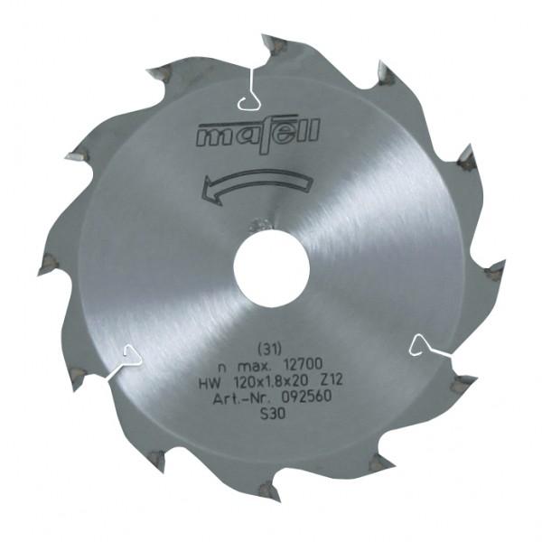 MAFELL Pilový kotouč-HM, 120 x 1,2/1,8 x 20 mm, Z 12, WZ