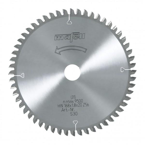 MAFELL Pilový kotouč-HM, 168 x 1,2/1,8 x 20 mm, Z 56, WZ