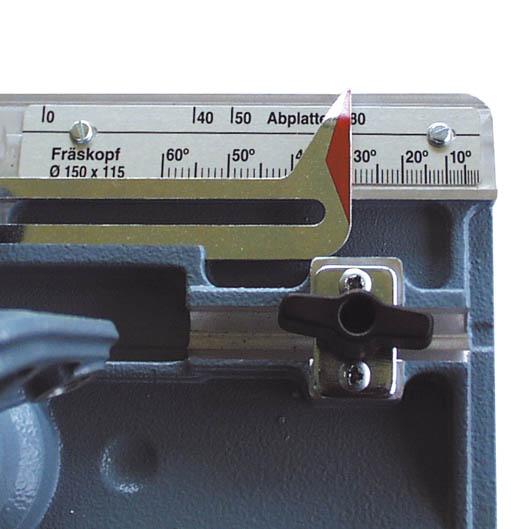 MAFELL ZK 115 Ec jednoduché nastavení